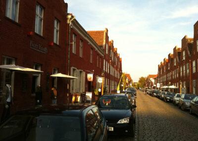 GEschäft von außen im holländischen Viertel